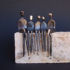 Family of Five by Yenny Cocq (Bronze Sculpture)