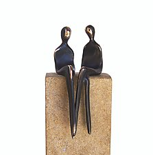 Mrs. & Mrs. by Yenny Cocq (Bronze Sculpture)