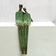 Close to Me by Yenny Cocq (Bronze Sculpture)