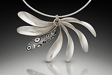 Radiate Pendant by Theresa Kwong (Gold & Silver Necklace)