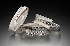 Wrap Bracelet with Stones by Theresa Kwong (Silver & Stone Bracelet)