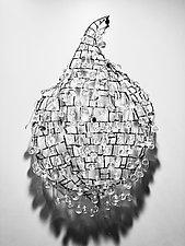Droplet II by Melissa  Misoda (Art Glass Wall Sculpture)