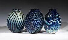 Treasure Series Pill Vase by Jacob Pfeifer (Art Glass Vase)