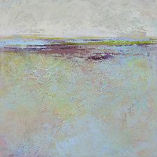 Plum Passages by Victoria Primicias (Oil Painting)