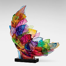 Echo by Caleb Nichols (Art Glass Sculpture)