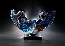 Nobscot by Caleb Nichols (Art Glass Sculpture)