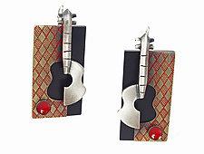 Still Life Earrings by Lisa and Scott  Cylinder (Metal Earrings)