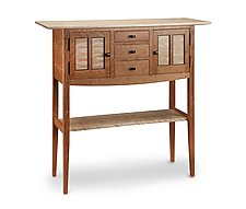 Foyer Sideboard by Tom Dumke (Wood Console Table)