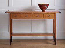Sofa Table by Tom Dumke (Wood Console Table)