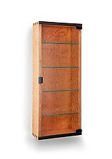 Wall Display Cabinet by Tom Dumke (Wood Cabinet)