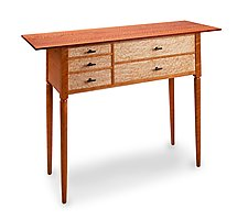 Leopard Wood Sideboard by Tom Dumke (Wood Sideboard)