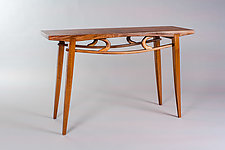 Eyes by Alan Powell (Wood Console Table)