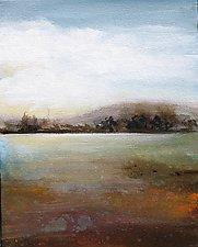 Mountain Lake by Karen  Hale (Acrylic Painting)