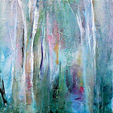Fanciful Forest by Karen  Hale (Acrylic Painting)