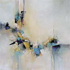 The Shape of Things by Karen  Hale (Acrylic Painting)