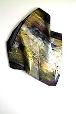 Lost and Found II by Karen  Hale (Painted Wall Sculpture)