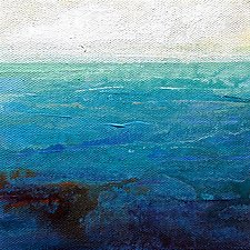 Open Water by Karen  Hale (Acrylic Painting)