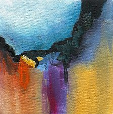 Color Play II by Karen  Hale (Acrylic Painting)