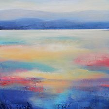 Mountain View by Karen  Hale (Acrylic Painting)