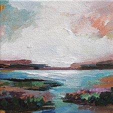 Waterway by Karen  Hale (Acrylic Painting)