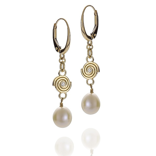 Delicate Spiral Earrings