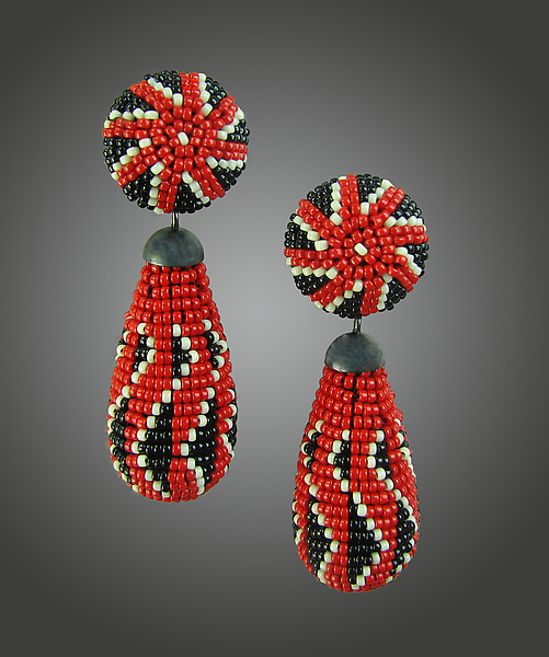 Holiday Beaded Earrings