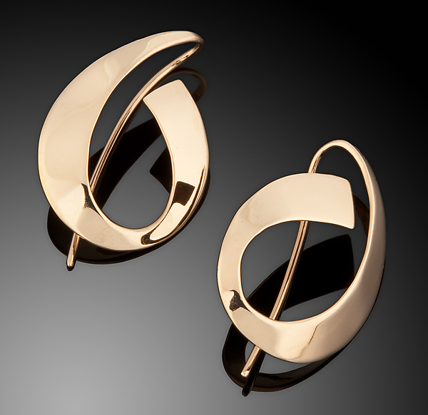 14k Bold Gold Earrings