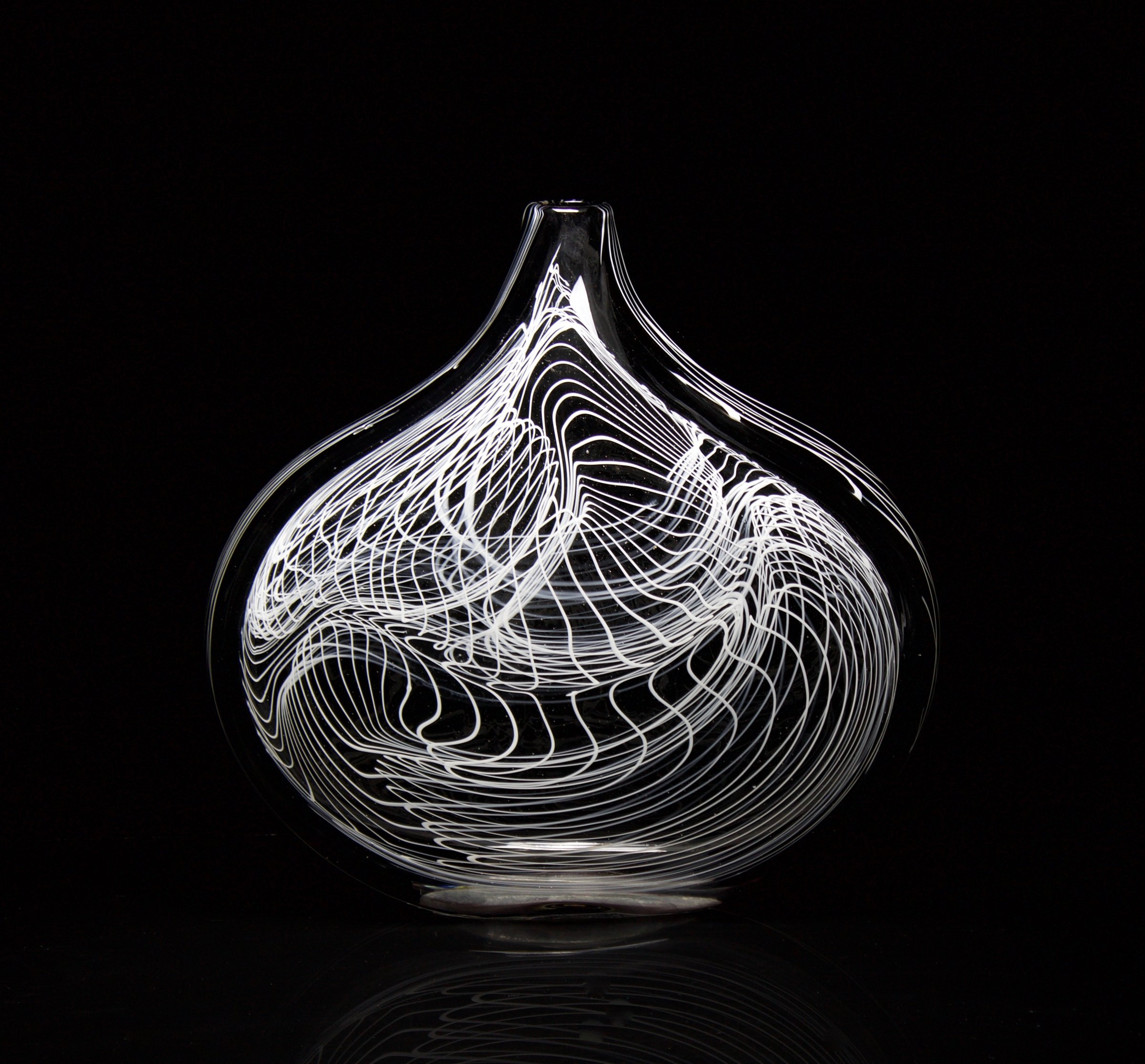 Black Rain Vase
