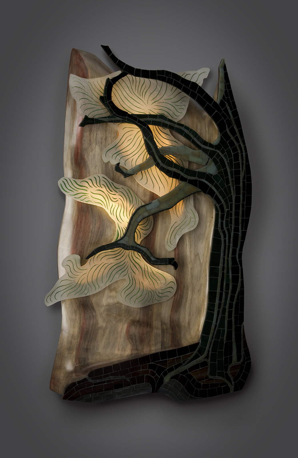 Bonsai By Aaron Laux Wood Wall Sculpture Artful Home