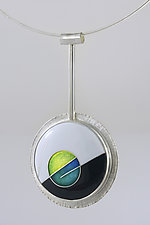 Counterpoint I by Jan Van Diver (Enameled Necklace)
