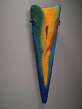 Spirit Rising by Joh Ricci (Fiber Wall Sculpture)