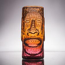 Tropical Tiki Mugs by Andrew Iannazzi (Art Glass Drinkware)
