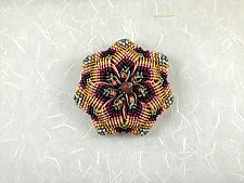 Kaleidoscope No.71 by Joh Ricci (Fiber Brooch)