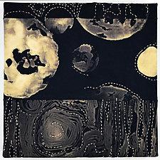 Many Moons by Ayn Hanna (Fiber Wall Hanging)