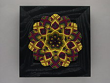 Fall Kaleidoscope by Joh Ricci (Fiber Wall Sculpture)