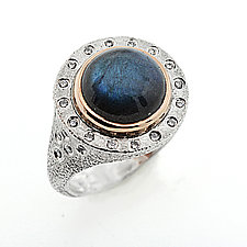 Arabian Nights Ring by Rona Fisher (Gold, Silver, & Stone Ring)