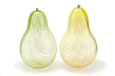 Glass Pears by Marc Carmen (Art Glass Sculpture)