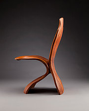 Desk Chair by Aaron Laux (Wood Chair)