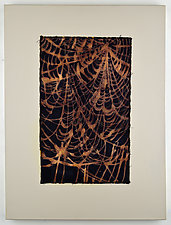 Tangled Web 7 by Ayn Hanna (Fiber Wall Art)