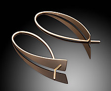 Waterfall Earrings by Ben Dyer (Gold Earrings)