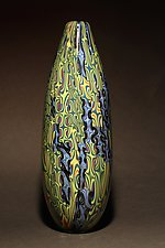 Mokume Gane II by James Friedberg (Art Glass Vase)