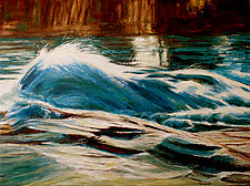 Cascade by Jan Fordyce (Oil Painting)