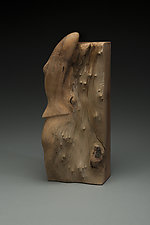 Lifestream by Marceil DeLacy (Wood Sculpture)