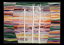 Tree Bones in the Southwest by Karen Schulz (Fiber Wall Hanging)