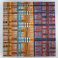 Resolution by Karen Schulz (Fiber Wall Hanging)