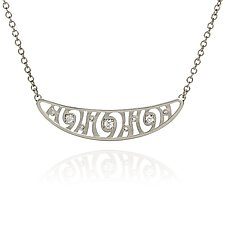Shooting Stars Pendant Necklace by Martha Seely (Silver & Stone Necklace)