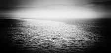 Solo Flight - Door County, WI by J.L. Rodman (Black & White Photograph)