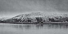 Farm - Norway by J.L. Rodman (Black & White Photograph)