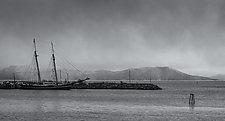 Korsenes, Norway by J.L. Rodman (Black & White Photograph)