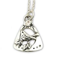 Treetop Pendant by Vickie  Hallmark (Silver Necklace)